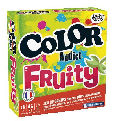 Color Addict Fruity - France Cartes - La Boîte à Surprises de Nicolas à St-Sauveur