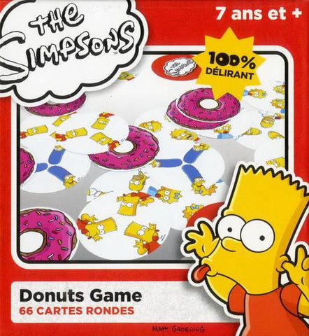 Jeu Simpsons Donuts - France cartes