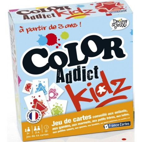 Jeu Color Addict enfants - France cartes