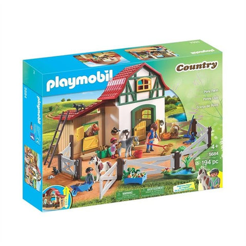Playmobil Country Ferme poney 5684