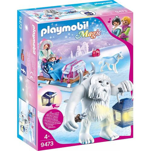 Playmobil Magic  Yéti avec traineau 9473