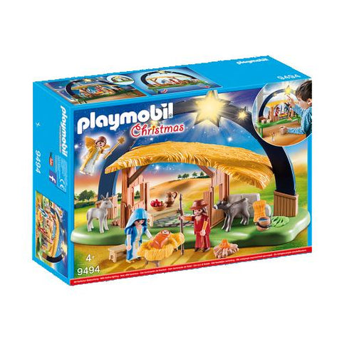 Playmobil Christmas Creche avec illumination 9494