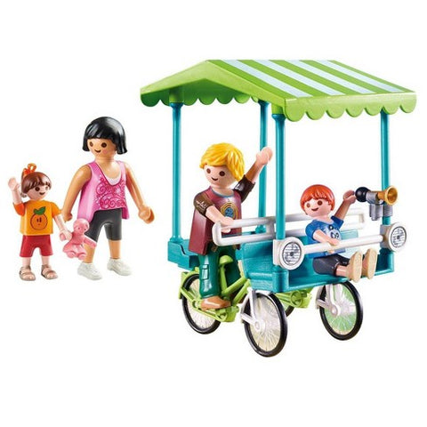 Playmobil Bicyclette familiale 70093