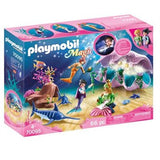 Playmobil Magic Coquillage lumineux avec sirenes 70095