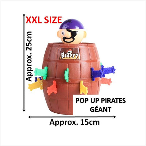 Jeu de Pop-up Pirate Volant