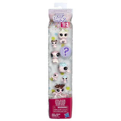 Littlest Pet Shop Paquet de 8 de la série 2 Hasbro