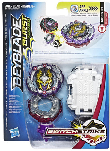 Beyblade Burst Turbo Switchstrike Hades H3 DR56/TB02