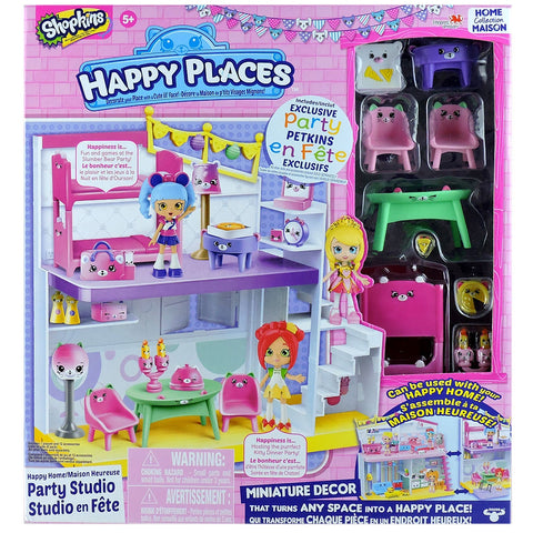 Party studio en fête - Shopkins Happy place