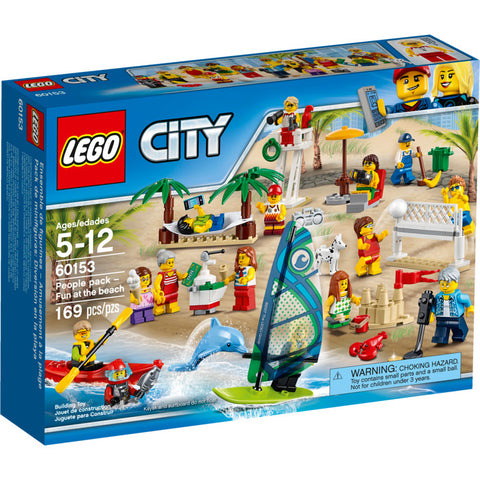 LEGO CITY 60153 Ensemble de figurines LEGO City à la plage