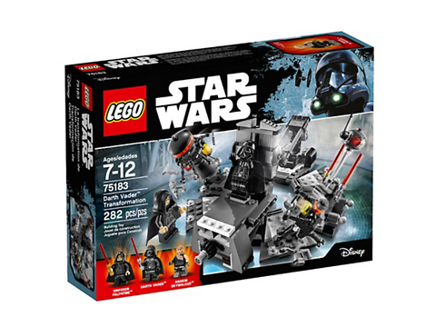 LEGO STAR WARS 75183 La transformation de Darth Vader
