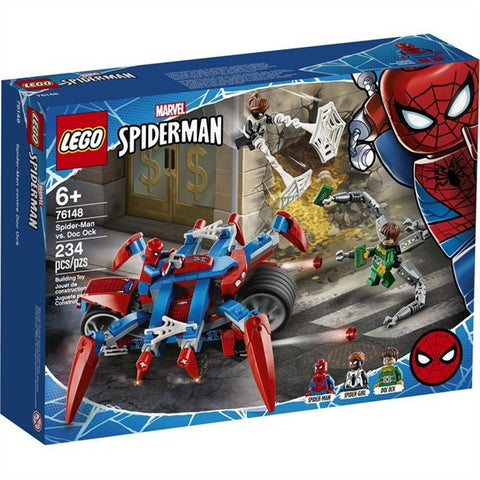 Lego Spiderman contre Doc Ock 76148