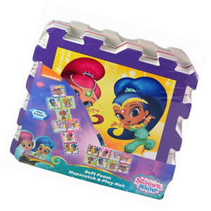Tapis en mousse marelle Shimmer and Shine - Nickelodeon
