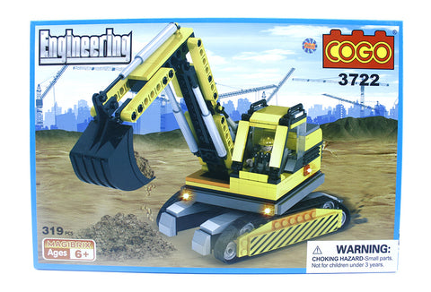 Cogo Grue de construction 319 pieces