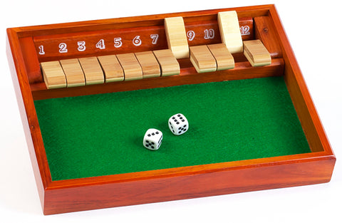 Jeu Shut the Box - CHH Games