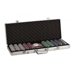 Valise Poker deluxe aluminium 500pieces