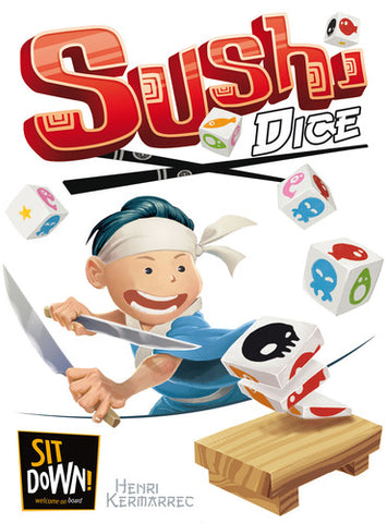 Sushi Dice - Sit Down