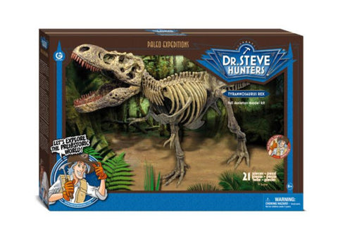 Deluxe - Dr. Steve Hunters Paleo Expeditions Tyrannosaure T-Rex 21 pièces