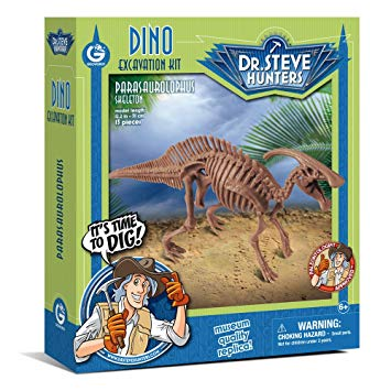 Dr. Steve Hunters Dino Dig Excavation Kit Stegosaurus