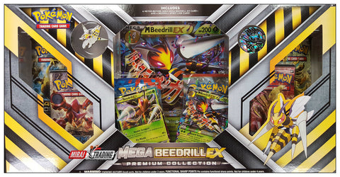 Pokemon Mega Beedrill Ex Box