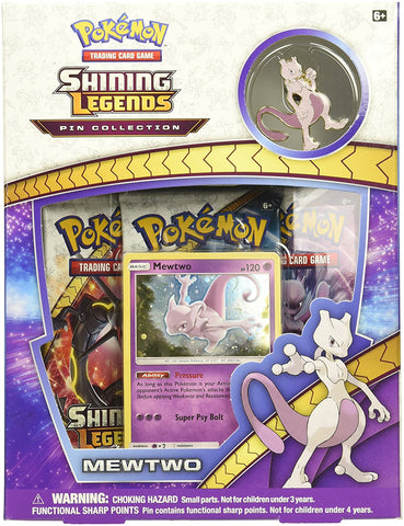 Shining Legends Pin Collection Mewtwo