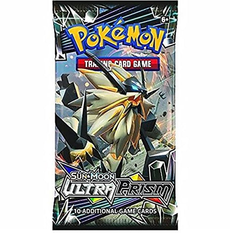 Cartes Pokémon Ultra Prism - Paquet de 10 Sun&Moon