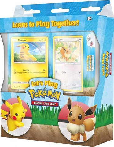 Cartes Pokemon Let's play Pikachu