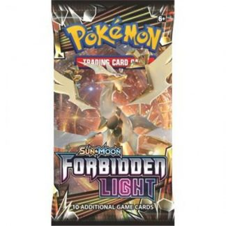 Cartes Pokémon Sun & Moon Forbidden Light paquet 10 cartes