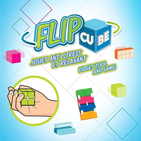 Flip Cube - Concentration Antistress
