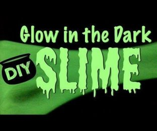 Slime Fluorescent Glow in the Dark - Facile - Fabrication