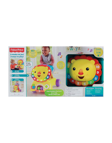 Fisher Price Lion Premiers Pas 3 en 1