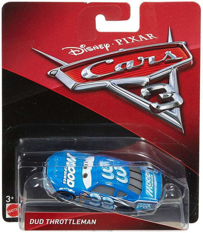 Cars3 Dud Throttleman - Mattel