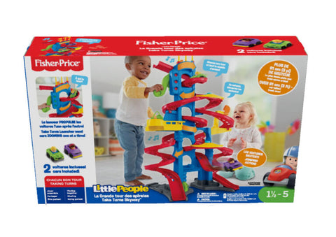 Fisher Price La Tour des Spirales Deluxe