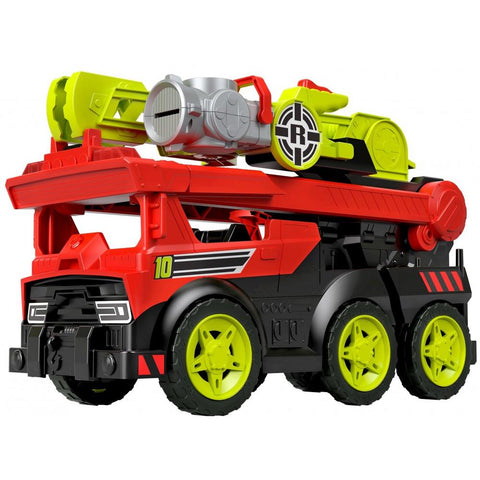 Fisher Price Camion de pompiers transformable sons et lumieres  185312