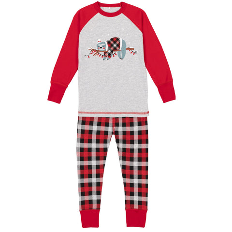 Pyjamas Ourson Chinese Red B20PB26 COL. 744 Deux par Deux