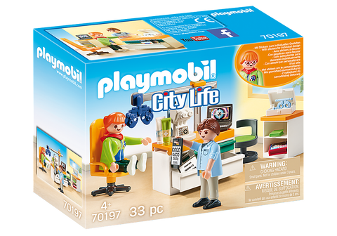 Playmobil City Life Cabinet d'ophtalmologiste 70197