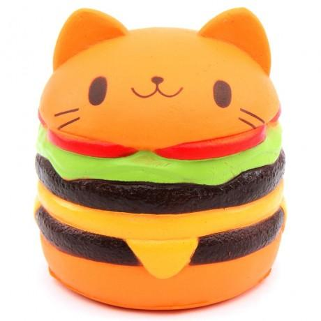 Jumbo Squishy & Soft & Slow Rising - Cat Burger
