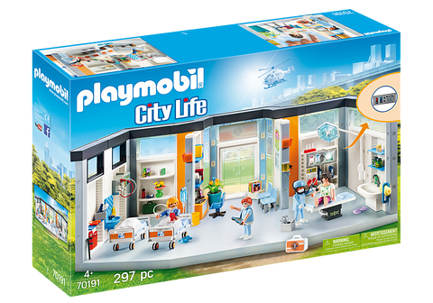 Playmobil City Life Clinique équipée 70191