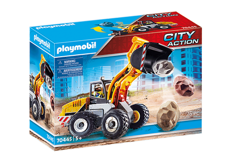 Playmobil City action chargeuse sur pneus 70445