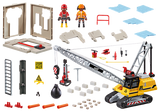 Playmobil Dragline avec mur de construction 93 pc 70442