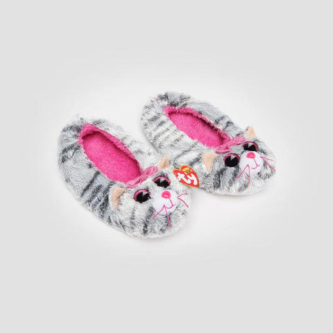 TY Pantoufles Fashion Slipper Socks Medium Kiki