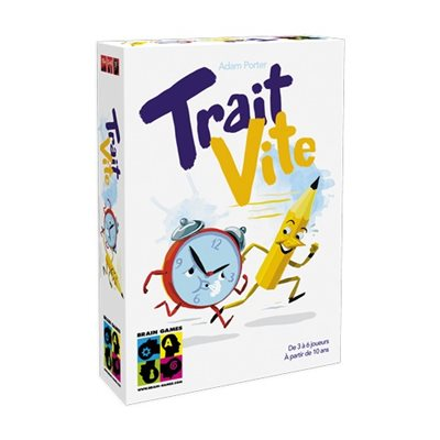 Jeu Trait Vite de Brain games