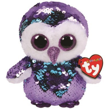 TY hibou petit flippable Moonlight 36269