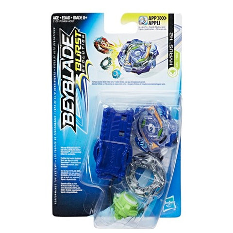 Beyblade Burst Evolution Starter Kit Hyrus H2 Hasbro
