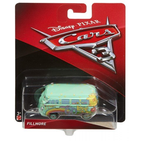Cars3 Fillmore de Disney Pixar Flash Mcqueen - Mattel