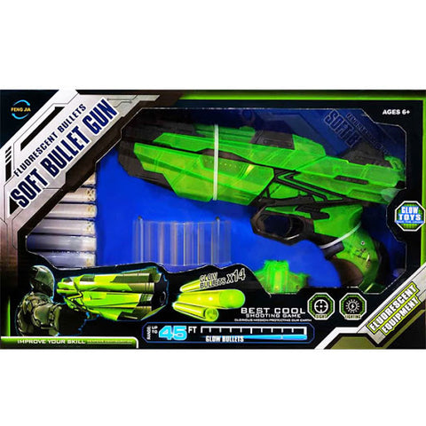 Fusil a air comprimé glow in the dark 185099