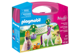 Playmobil Princess Valisette princesses avec licorne 70107
