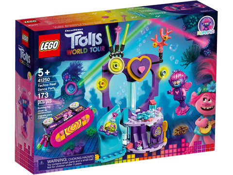 LEGO TROLLS WORLD TOUR La Fête Dansante a Techno Reef 41250