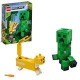 LEGO MINECRAFT BigFig Creeper et Ocelot 21156