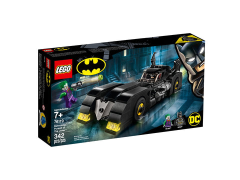 Lego Batmobile La poursuite du Joker 76119
