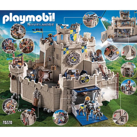 Playmobil  Novelmore Grand Chateau des chevaliers 70220